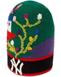 Gucci - Gorro de Lana Bordado New York YankeesTM - Lyst 48abf44e0e6