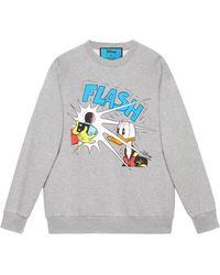 Gucci Disney X Donald Duck Sweatshirt - Gray