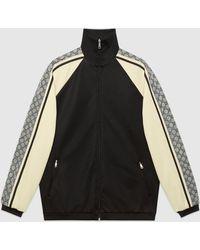 Gucci - グッチオーバーサイズ テクニカルジャージー ジャケット - Lyst