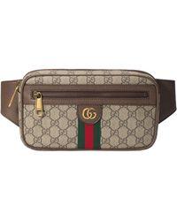 Gucci Sac ceinture Ophidia GG - Neutre