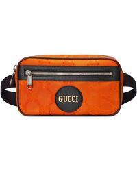 Gucci Riñonera Off The Grid - Naranja