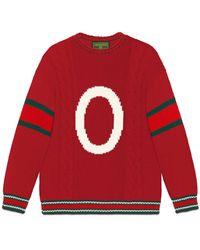 Gucci Diy Wool Sweater - Red