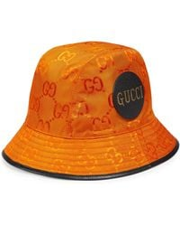 Gucci Off The Grid Fedora - Orange