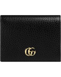 Gucci - Leather Card Case - Lyst