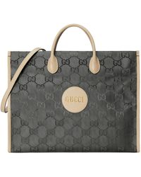 Gucci Bolso tote Off The Grid - Gris