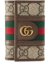 Gucci Ophidia GG Key Case - Natural