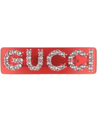 Gucci Pasador para el Pelo de Cristal - Multicolor