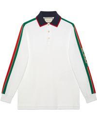 Gucci - Polo de Algodón con Rayas - Lyst