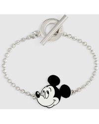 "Gucci ""Disney x "" Armband aus Silber - Mettallic"