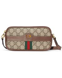 Gucci Ophidia GG Mini Bag - Natural