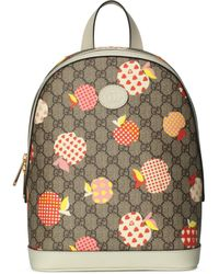 Gucci Les Pommes Small Backpack - Natural