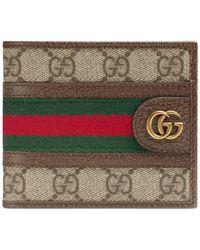 Gucci Porte-monnaie Ophidia GG - Neutre
