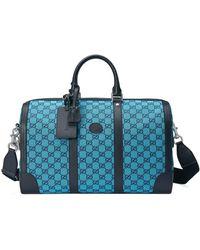Gucci Sac de voyage GG Multicolor - Bleu