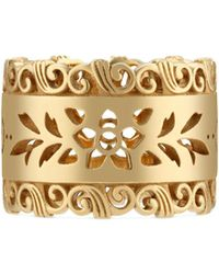 Gucci - Icon Ring In Yellow Gold - Lyst