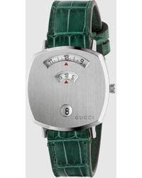 Gucci Grip Uhr 38 mm - Grün