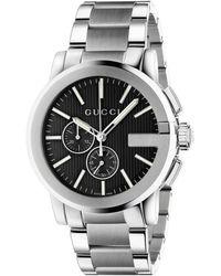 Gucci G Chrono Uhr 44mm - Schwarz