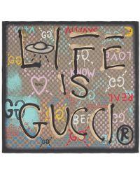 Gucci - Ghost Scarf - Lyst