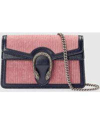 Gucci Dionysus Super Mini Tasche - Pink