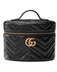 Gucci GG Marmont Small Cosmetic Case - Black