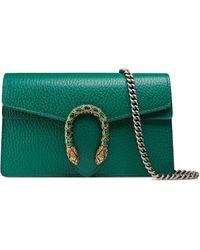 Gucci Microbolso Dionysus de piel - Verde