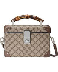Gucci Globe-trotter GG Beauty Case - Natural