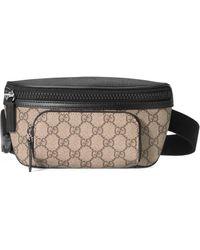 Gucci Sac ceinture en toile Suprême GG - Neutre