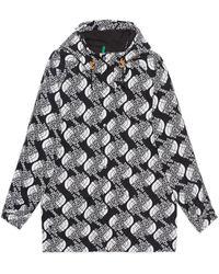 Gucci The North Face x Bergjacke aus Nylon - Schwarz