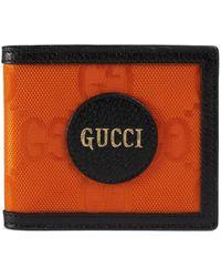 Gucci Off The Grid Faltbrieftasche - Orange