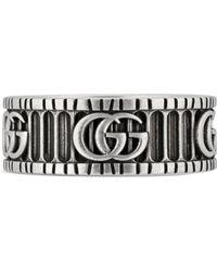 Gucci Armband Mit Gg-logo - Mettallic