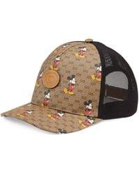 "Gucci ""Disney x "" Baseballkappe - Natur"