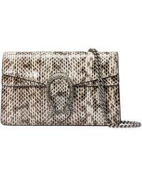 Gucci Dionysus Python Super Mini Bag - Multicolour