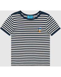 Gucci - グッチドナルドダック ストライプ Tシャツ - Lyst