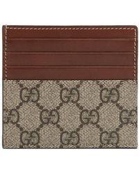 Gucci - GG Card Case - Lyst