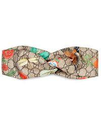 Gucci - Tian Silk Headband - Lyst