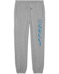 Gucci - Pantalone da jogging con logo - Lyst