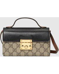 Gucci Padlock Mini-Tasche - Natur