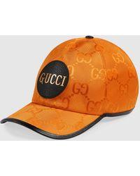 Gucci グッチ公式 Off The Grid ベースボールキャップオレンジ GG Econyl®color_descriptionリサイクル素材
