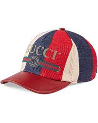 03e0fa11108 Gucci Guccy Cotton Headband in Blue - Lyst
