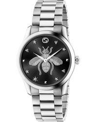 Gucci G-timeless Watch, 38mm - Metallic