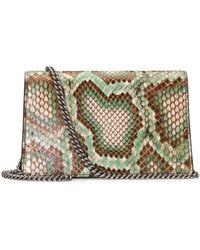Gucci - Dionysus Python Super Mini Bag - Lyst