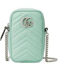Gucci GG Marmont Mini Bag - Green