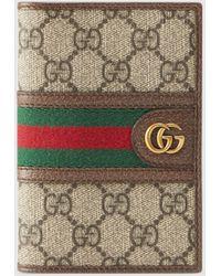 Gucci - グッチ〔オフィディア〕GGパスポートケース - Lyst