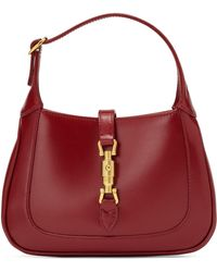 Gucci Jackie 1961 Small Shoulder Bag - Red