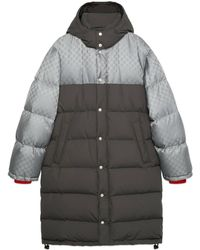 Gucci GG Jacquard Nylon Jacket - Gray