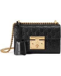 Gucci - Padlock Small Signature Shoulder Bag - Lyst