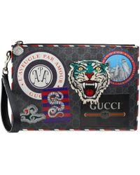 Gucci - Pochette Suprême GG à motifs Night Courrier - Lyst