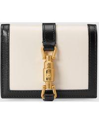 Gucci Jackie 1961 Brieftasche - Weiß