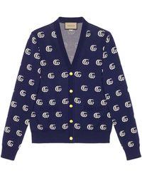 Gucci Cardigan - Blu