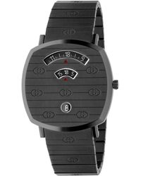 Gucci Grip Uhr 38 mm - Grau