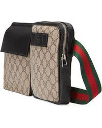 Gucci GG Supreme Belt Bag - Natural